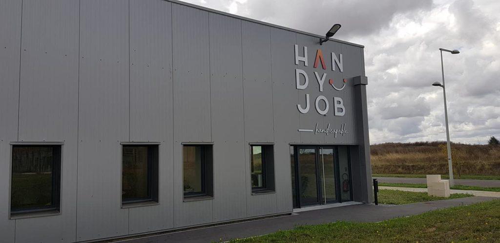 Visite de l'entreprise adaptée Handyjob